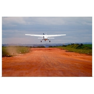 """Airplane take off"" Poster Print"