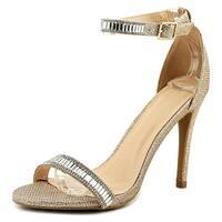 Diva Lounge Berlin-169 Women  Open-Toe Synthetic Gold Heels