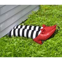 Wicked Witch Legs Halloween Prop Halloween Decoration - standard - one size