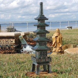 Design Toscano The Nara Temple: Asian Garden Pagoda Sculpture