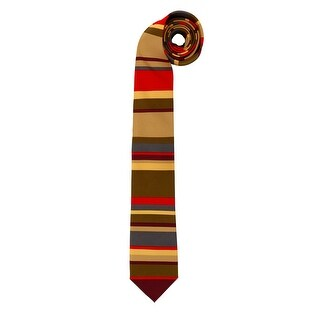 Doctor Who Adult Costume 4th Doctor Neck Tie - Brown