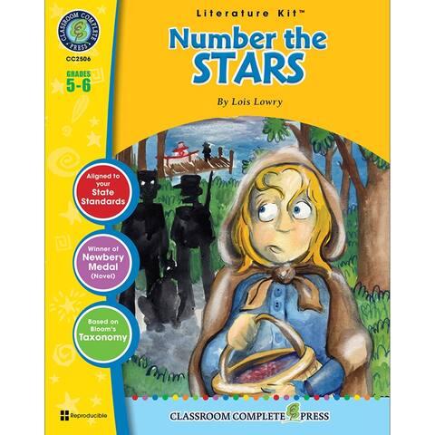(3 Ea) Number The Stars Literature Kit