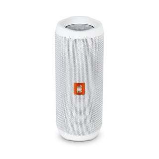 JBL FLIP 4 White Portable Bluetooth Speaker