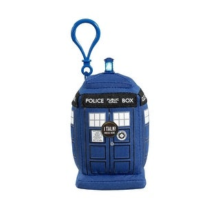 Doctor Who: Mini Talking Plush Clip On: Tardis - multi
