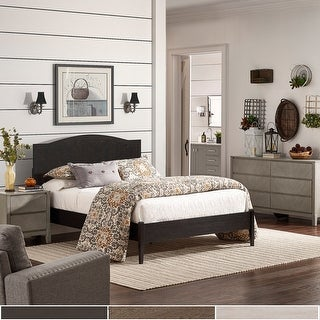 Link to Frazier Camelback Platform Bed by iNSPIRE Q Classic Similar Items in Bedroom Furniture
