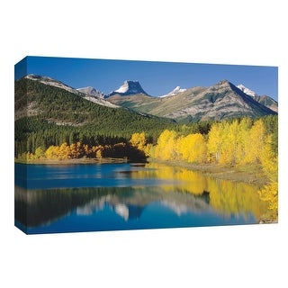 """PTM Images 9-153785  PTM Canvas Collection 8"""" x 10"""" - """"Wedge Pond"""" Giclee Forests and Mountains Art Print on Canvas"""
