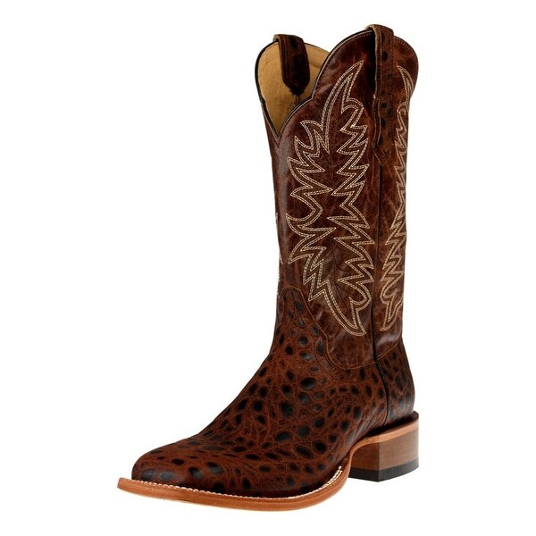 Cinch Western Boots Mens Edge Kangadile Square Toe Chocolate