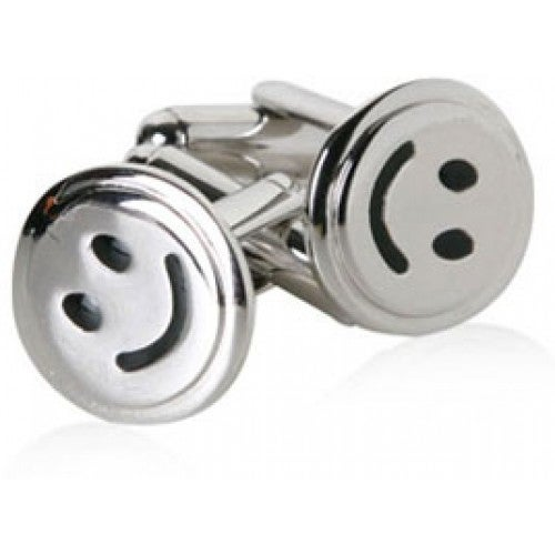Smiley Face Emoticon Happy Cufflinks