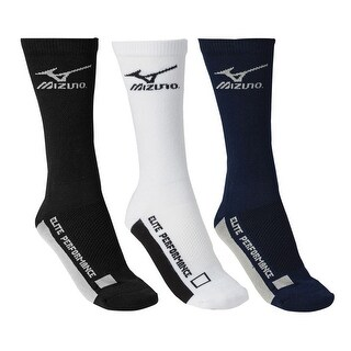 Mizuno Core Crew Volleyball Lacrosse Baseball Padded Sock Sport 480176