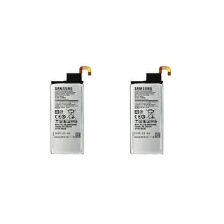 Bulk Packaging OEM Samsung Galaxy S6 Edge Battery-- (Two Units)