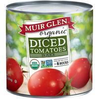 Muir Glen Organic Diced Tomatoes - Case of 6 - 102 oz