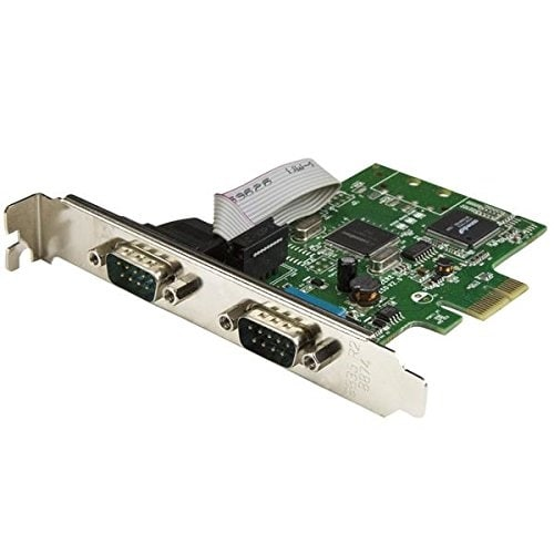 Startech 2-Port Pci Express Serial Card With 16C1050 Uart - Rs232 (Pex2s1050)