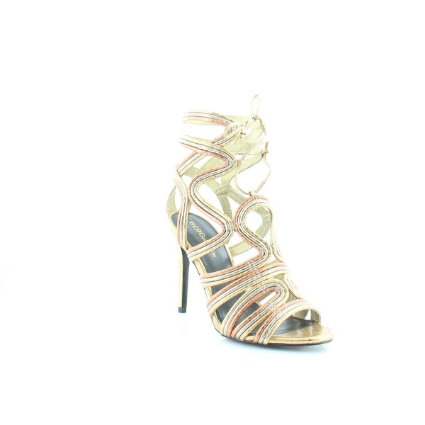 BCBGeneration Jax Women's Heels Oro Multi - 7