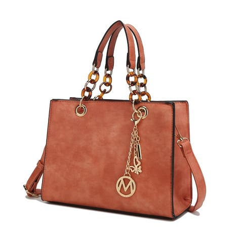 MKF Collection Sal Satchel Bag by Mia K.