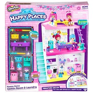Shopkins Happy Places Laundry And Game Room