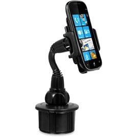Macally MCUPMP Macally Adjustable Automobile Cup Holder Mount - Horizontal, Vertical