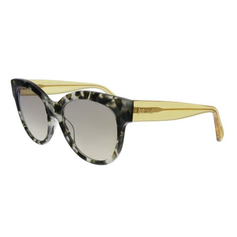 Just Cavalli JC760S 55L Olive/Grey Havana Square Sunglasses - No Size
