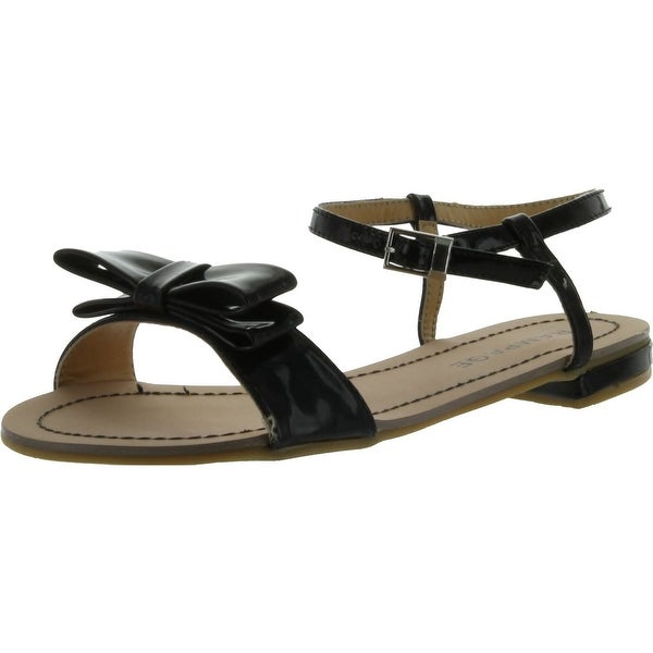 Rampage Women's Rangler Sandal - Black Patent