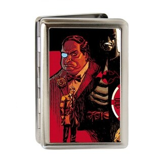 Flashpoint Batman Issue #1 Cover Batman James Gordon Penguin Cover Pose Fcg Business Card Holder
