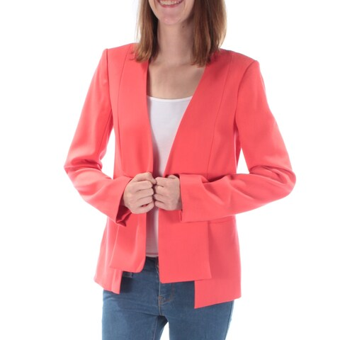 RACHEL ROY Womens Coral Suit Wear To Work Jacket Size: 2