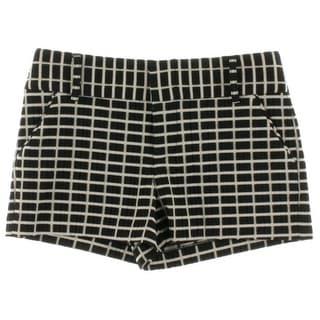 Alice + Olivia Womens Textured Printed Dress Shorts - 4