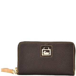 Dooney & Bourke Dillen Zip Around Phone Wristlet (Introduced by Dooney & Bourke at $118 in Aug 2013) - Black