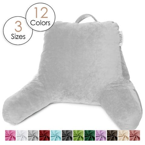 Nestl Reading Pillow, Rest Pillow with Arms for Kids Teens and Adults