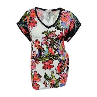 Nanette Lepore Women's Floral Print Tunic Cover up - multi