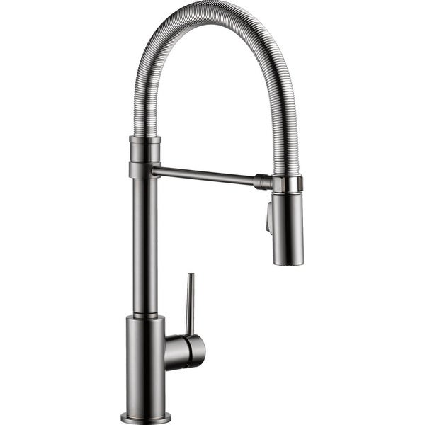 Shop Delta 9659 Dst Trinsic Pro Pre Rinse Pull Down Kitchen Faucet