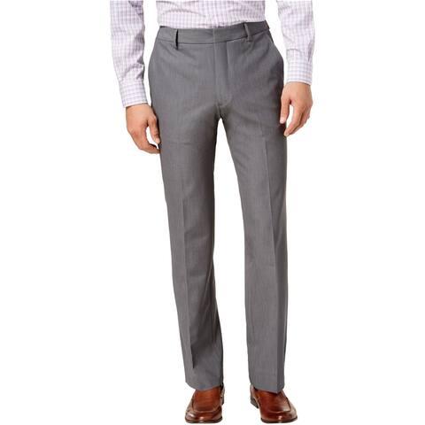 Kenneth Cole Mens Stretch Twill Dress Pants Slacks