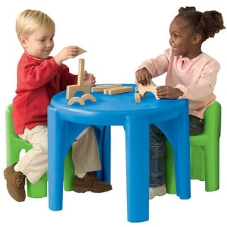 Bright & Bold Table and Chair Set
