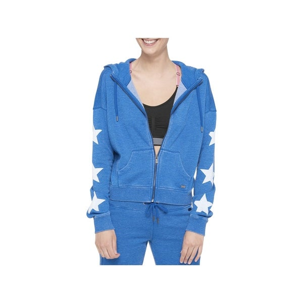 b86b96f5 Shop Tommy Hilfiger Womens Hoodie Star Athleisure - Free Shipping On ...