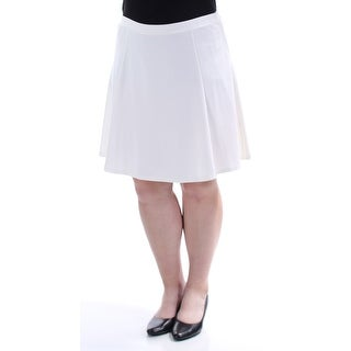Womens White Casual Skirt Size XXL
