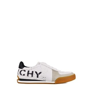 7a33a8a1064d6b Shop Givenchy Mens White Set 3 Logo Print Leather Tennis Sneakers - Free  Shipping Today - Overstock - 27969487