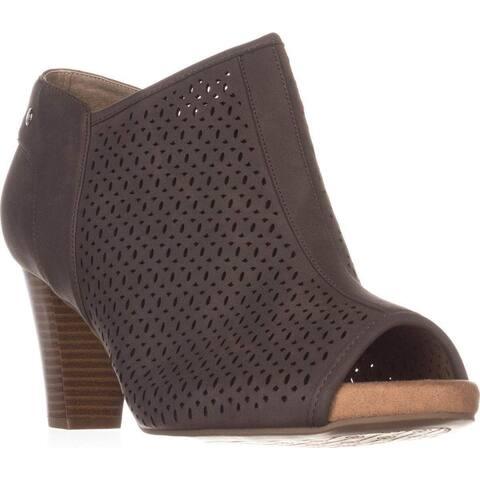 Giani Bernini Women's Shoes ANGYE Open Toe Ankle Fashion Boots