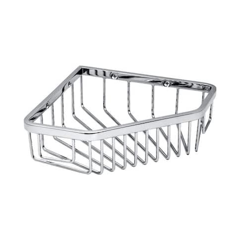 "Gatco 1499 8-1/2"" Corner Shower Basket - Chrome"
