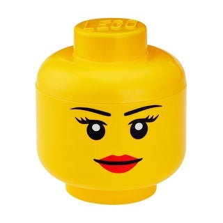 LEGO Large Storage Container Head, Girl - Multi