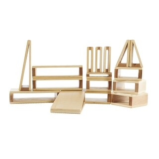 Link to Guidecraft Mini Hollow Blocks, Set of 16 Similar Items in Building Blocks & Sets
