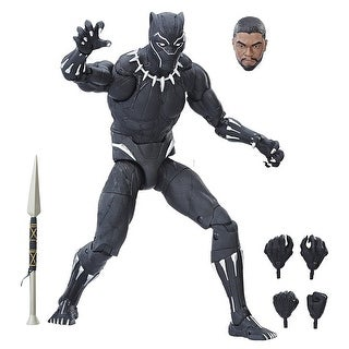"""Marvel Legends 12"""" Black Panther Action Figure - multi"""
