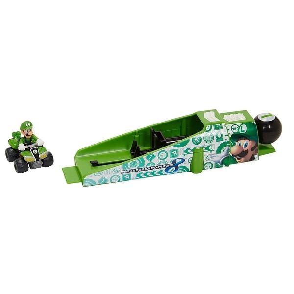 Mario Kart 8 Shock Racers Luigi, ATV and Launcher - Multi