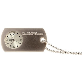 Smith & Wesson Dog Tag Watch Silver 30mm