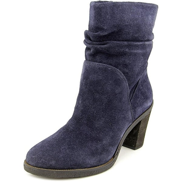 Vince Camuto Parka Round Toe Suede Ankle Boot