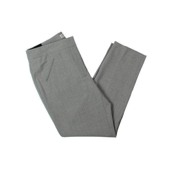 1e04b062277a9 Tahari ASL Womens Petites Alyssa Slim Pant Suit Separate Business Attire -  10P