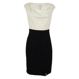 Laundry Women's Cowl Neck Sheath Dress