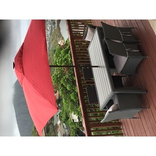 International Caravan Resin Compound Roman Numeral Umbrella Stand