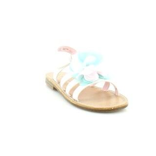 Nina Delicia Girls Sandals White