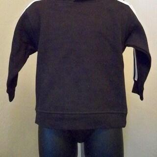 Blank Toddler 2T Black Hooded Sweatshirt By Adidas