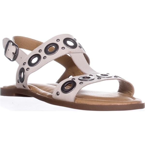 Lucky Brand Ansel2 Slingback Flat Sandals, Sandshell