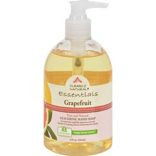 Clearly Natural - Grapefruit Liquid Hand Soap ( 4 - 12 FZ)