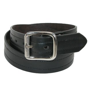 Dickies Men's Leather Reversible Industrial Strength Work Belt
